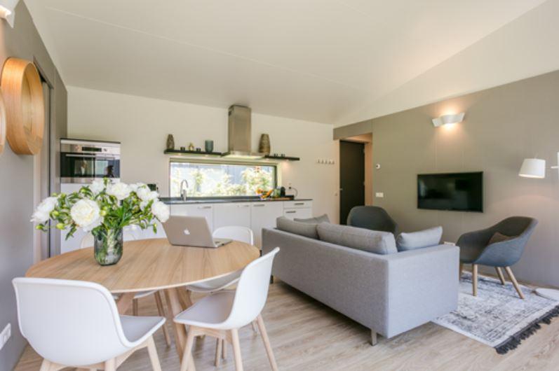 Modern living room at Gooilanden Lodges