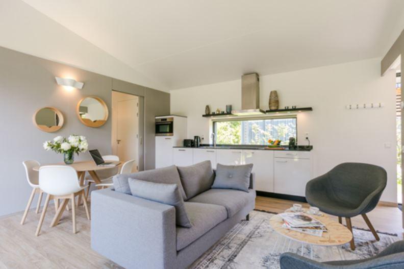 Living room at Gooilanden Lodges