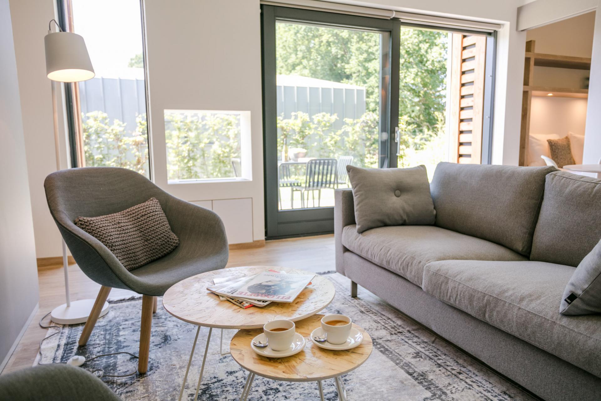 Sofa at Gooilanden Lodges