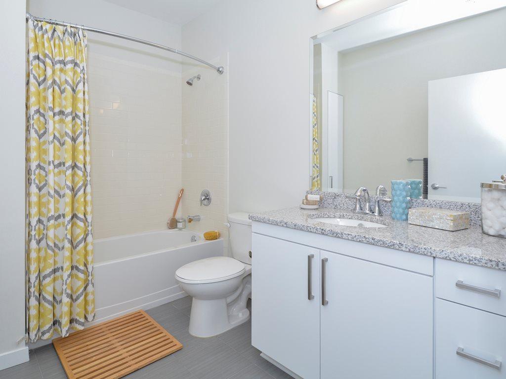 Bathroom at 75 Tresser Boulevard Apartment