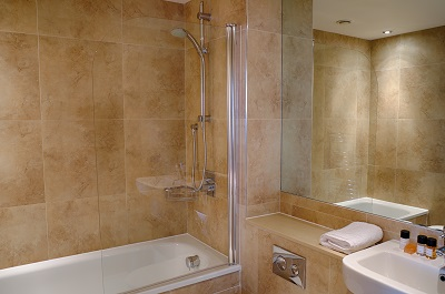 Bathroom at Pioneer Point Apartments