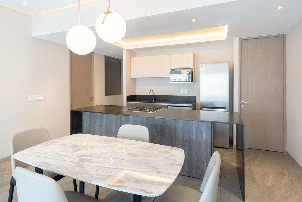 Kitchen at Paradox Apartment