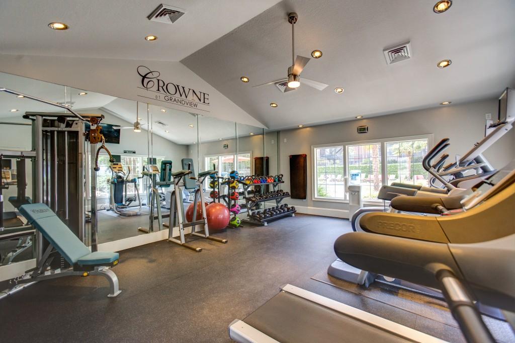 Fitness Centre at Crowne at Grandview Apartment