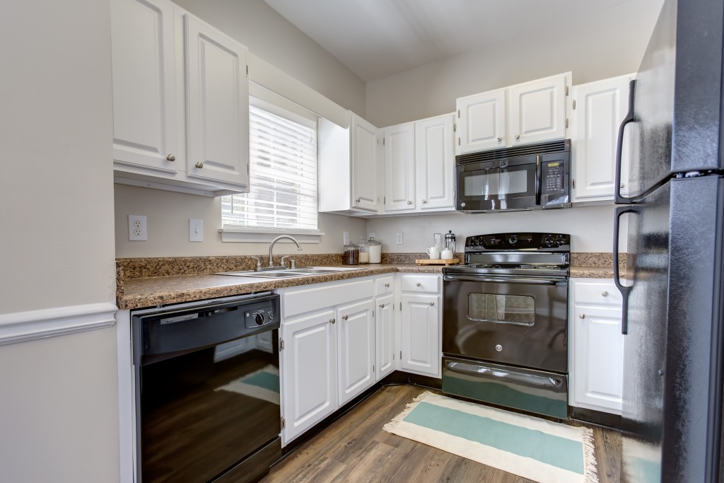 Kitchen at Crowne at Grandview Apartment