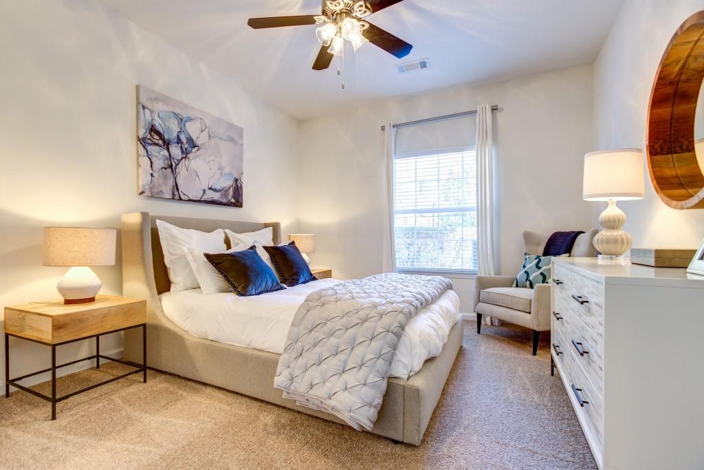 Bedroom at Crowne at Grandview Apartment