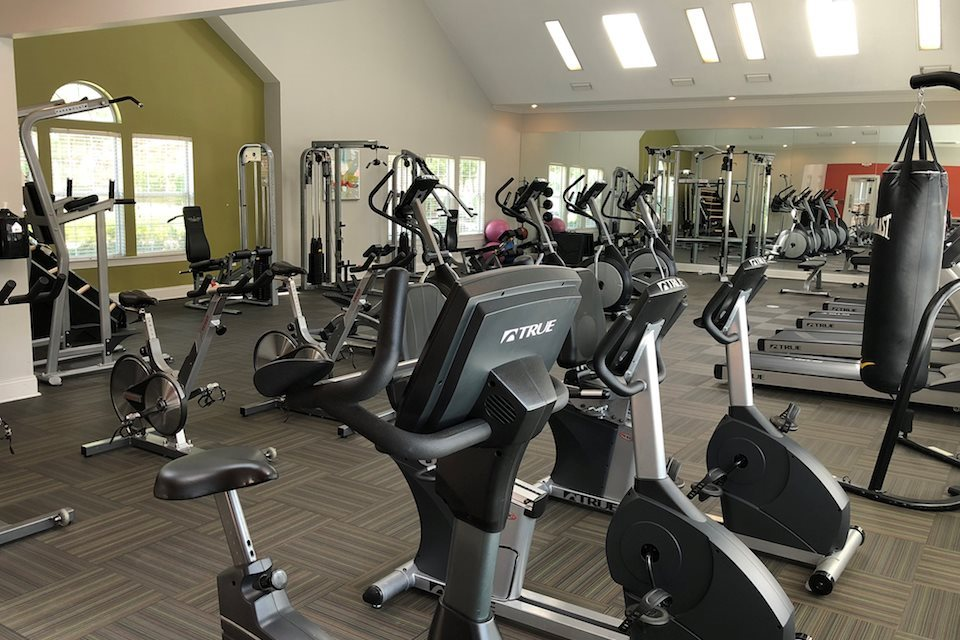 Fitness Centre at 150 Summit Serviced Apartment