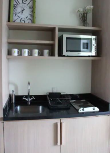 Kitchenette at Sky View Apartment