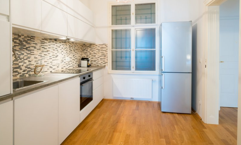 Kitchen at Museumsquartier Apartment