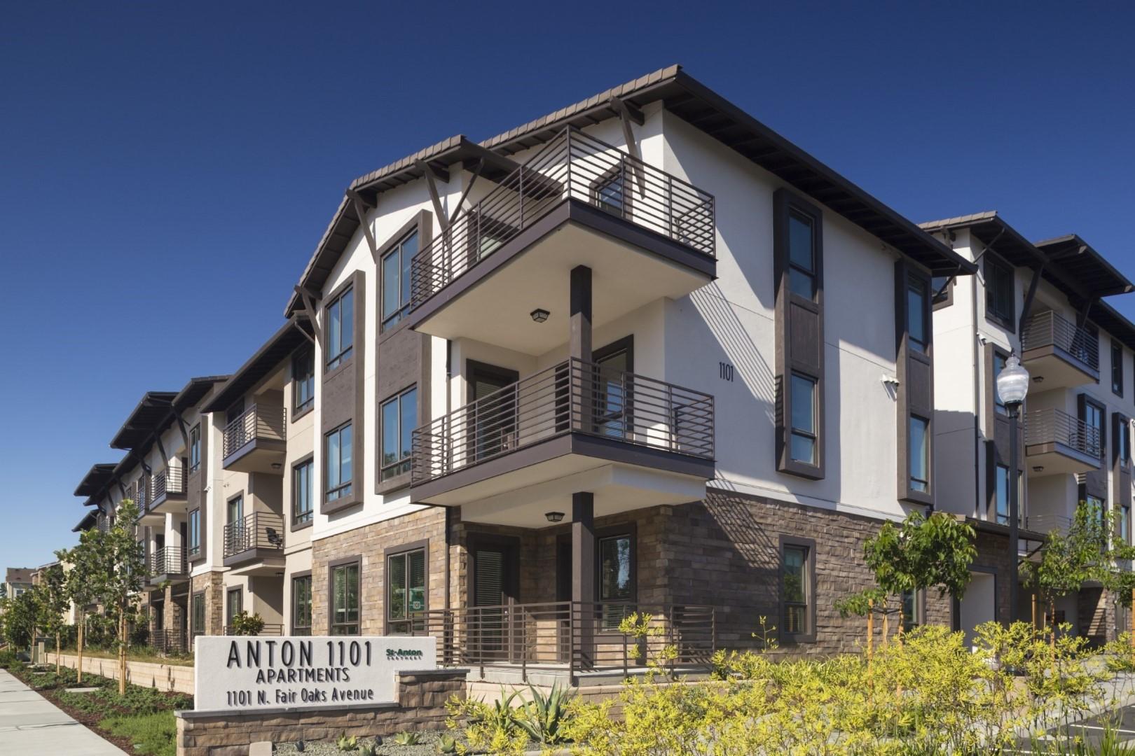 Exterior of Anton Apartments, Lakewood, Sunnyvale