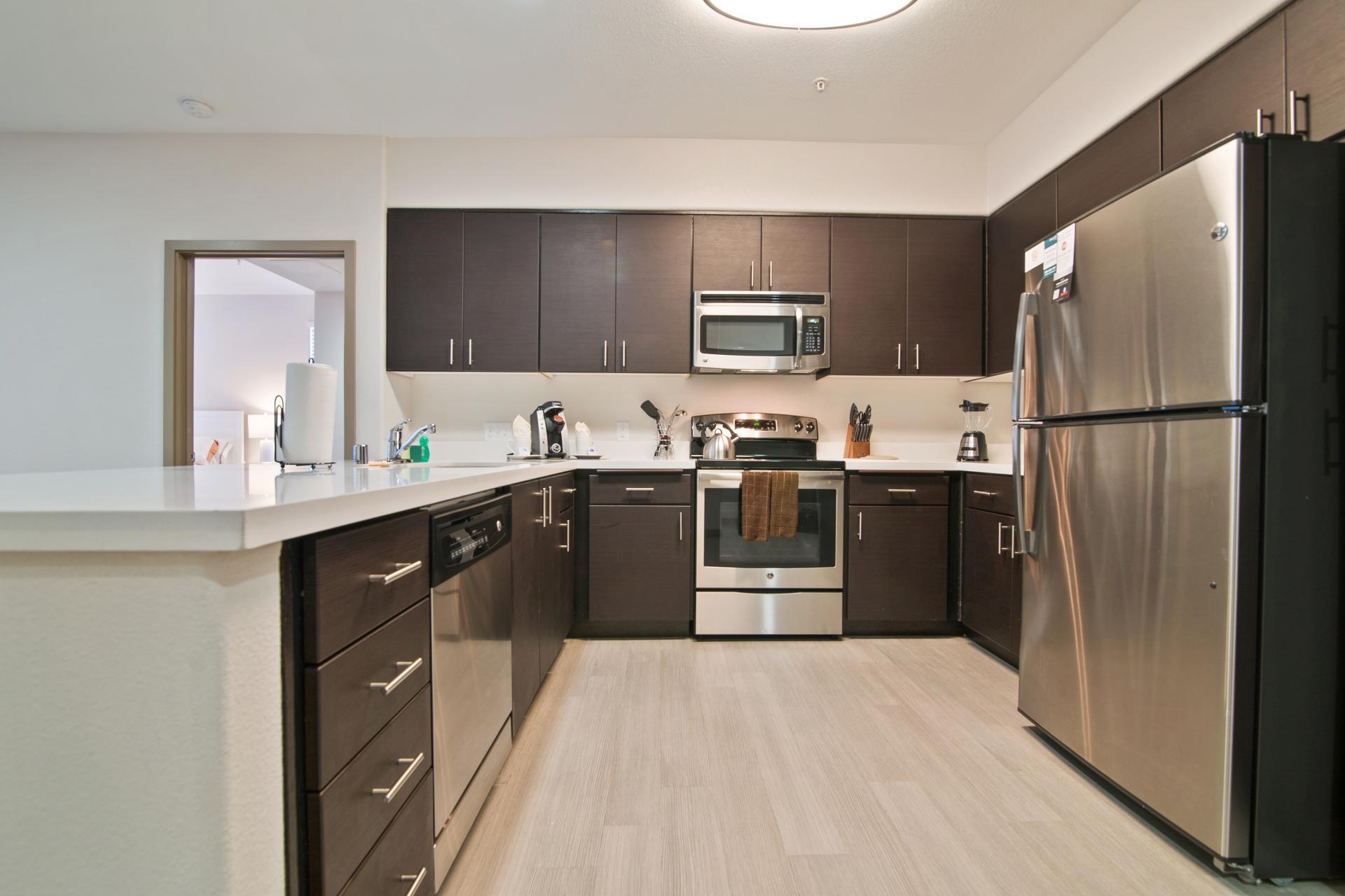 Kitchen at Anton Apartments, Lakewood, Sunnyvale