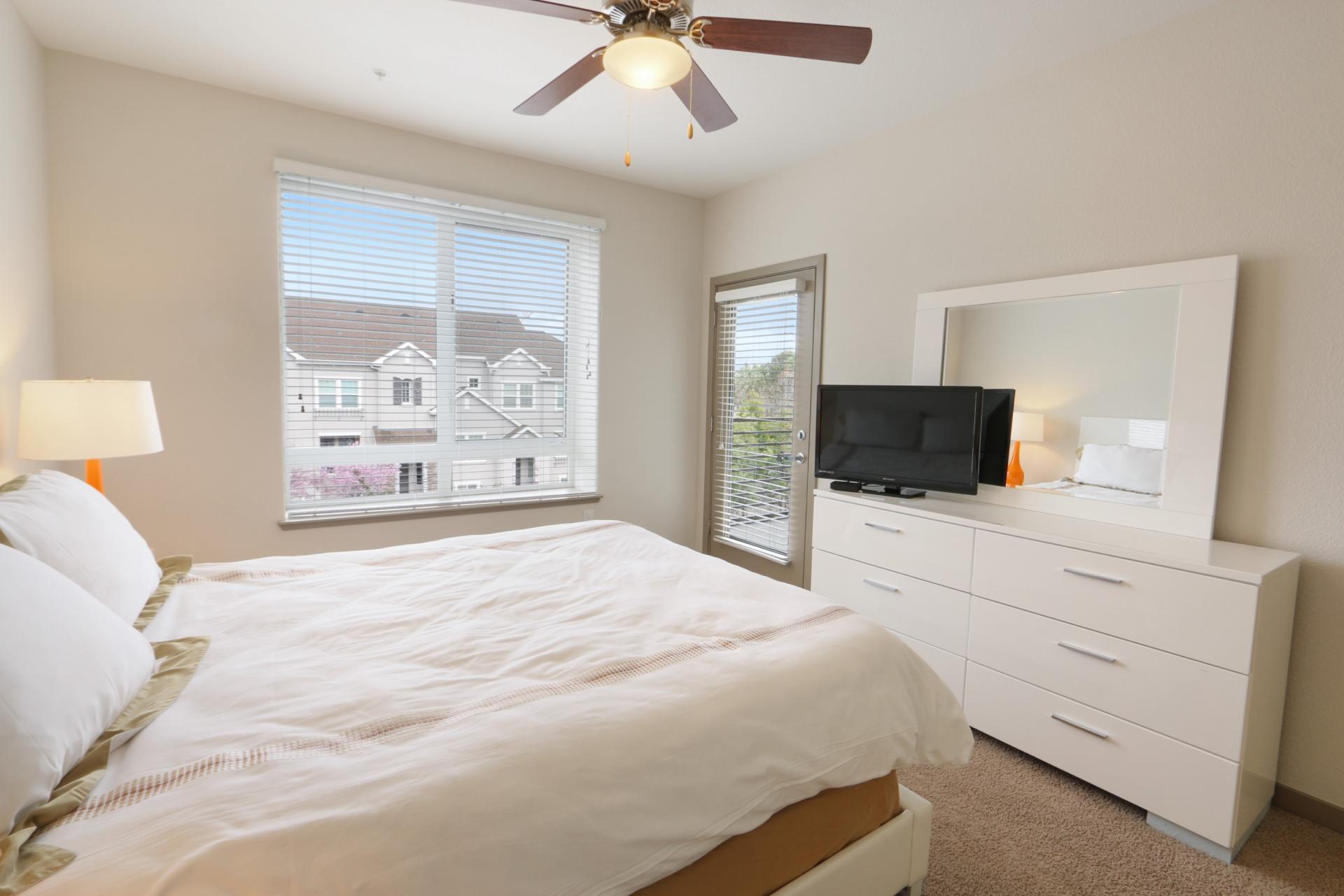 Bedroom at Anton Apartments, Lakewood, Sunnyvale