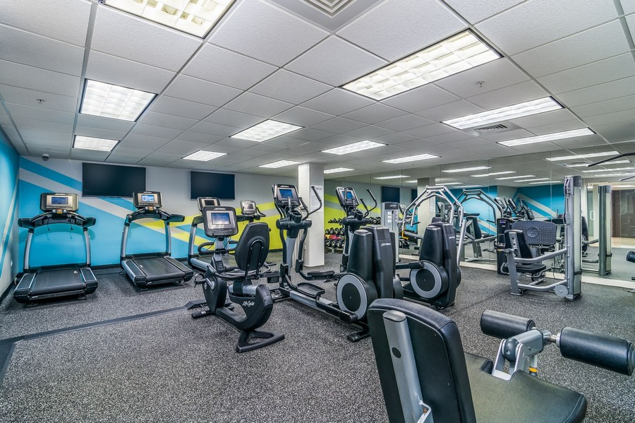 Fitness Centre at Iroquois Club Apartment