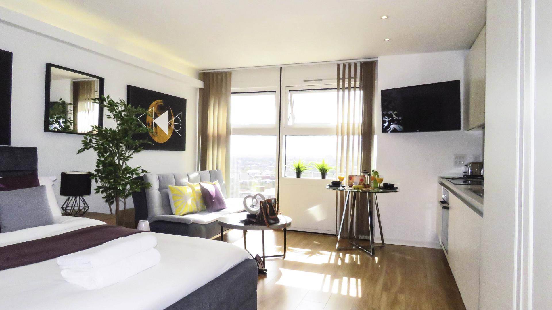 Layout at The Cube Serviced Apartments