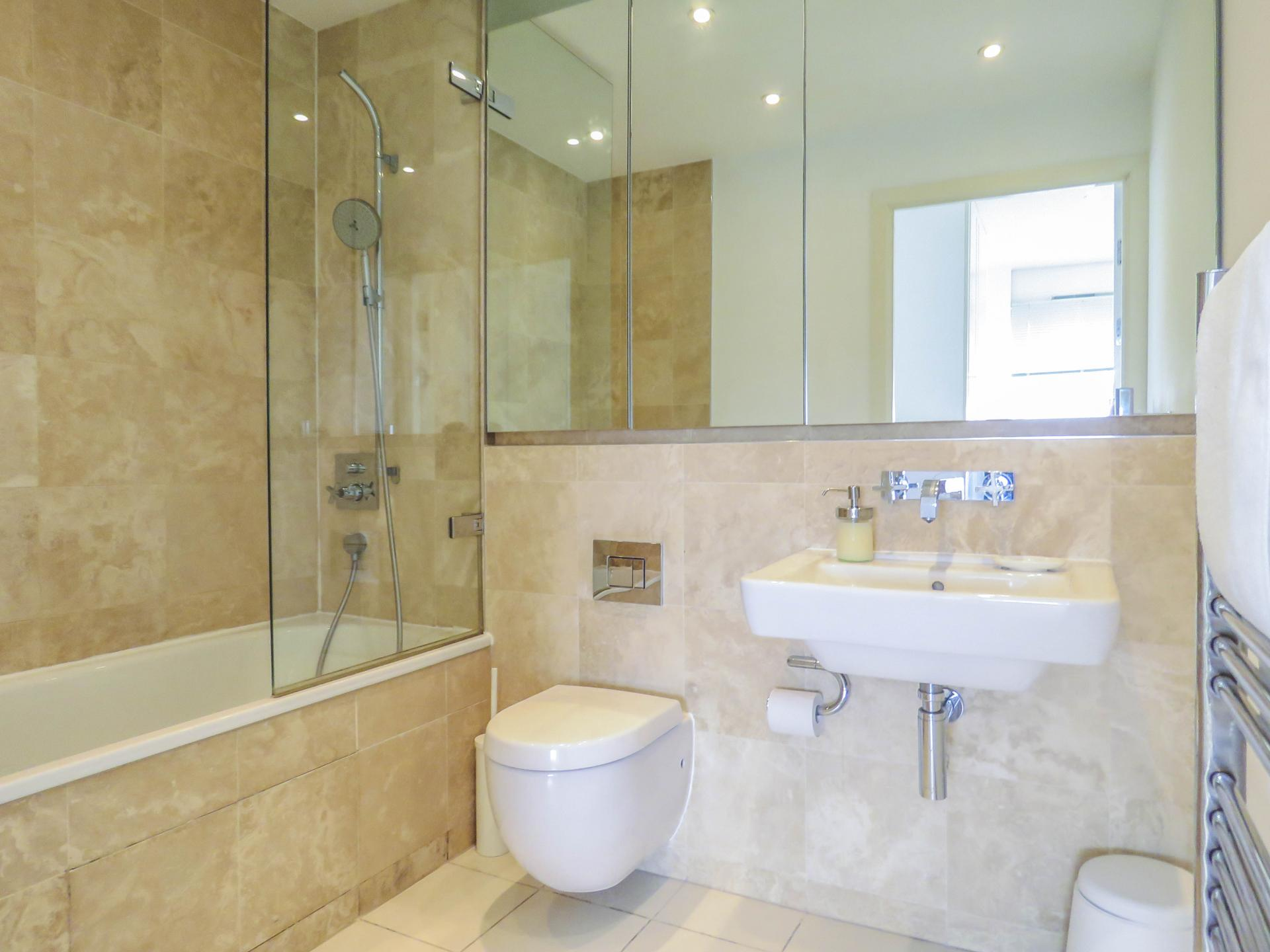 Bathroom at The Cube Serviced Apartments