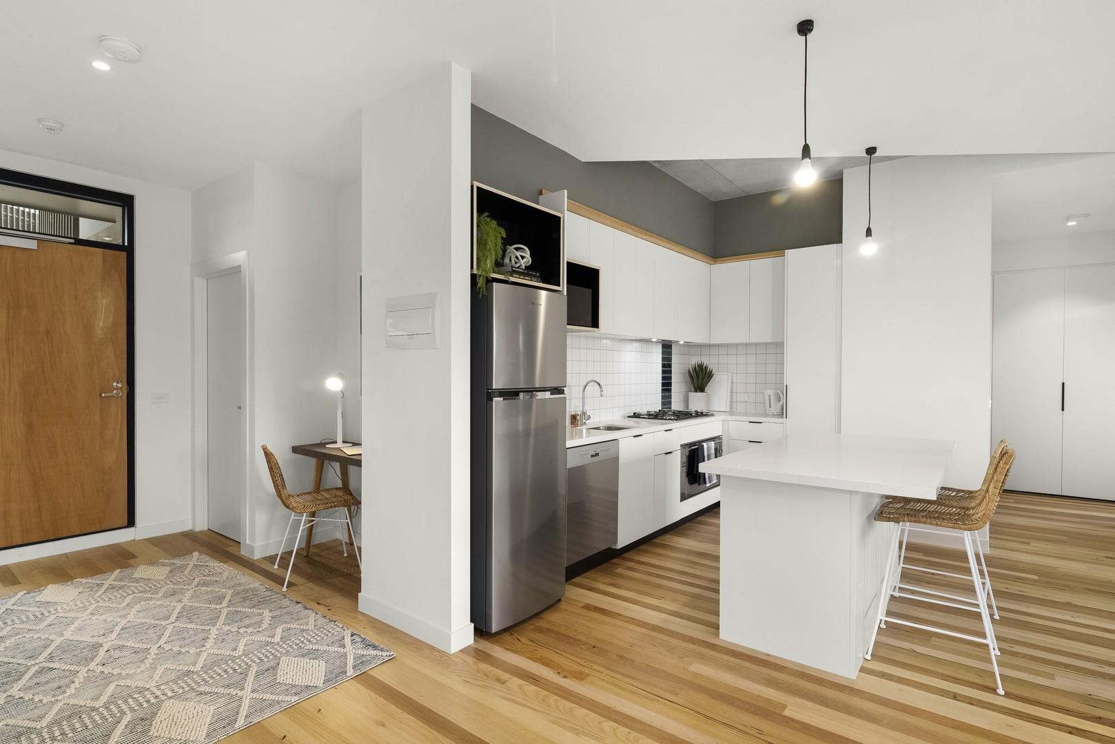 Kitchen at Highviews Apartment