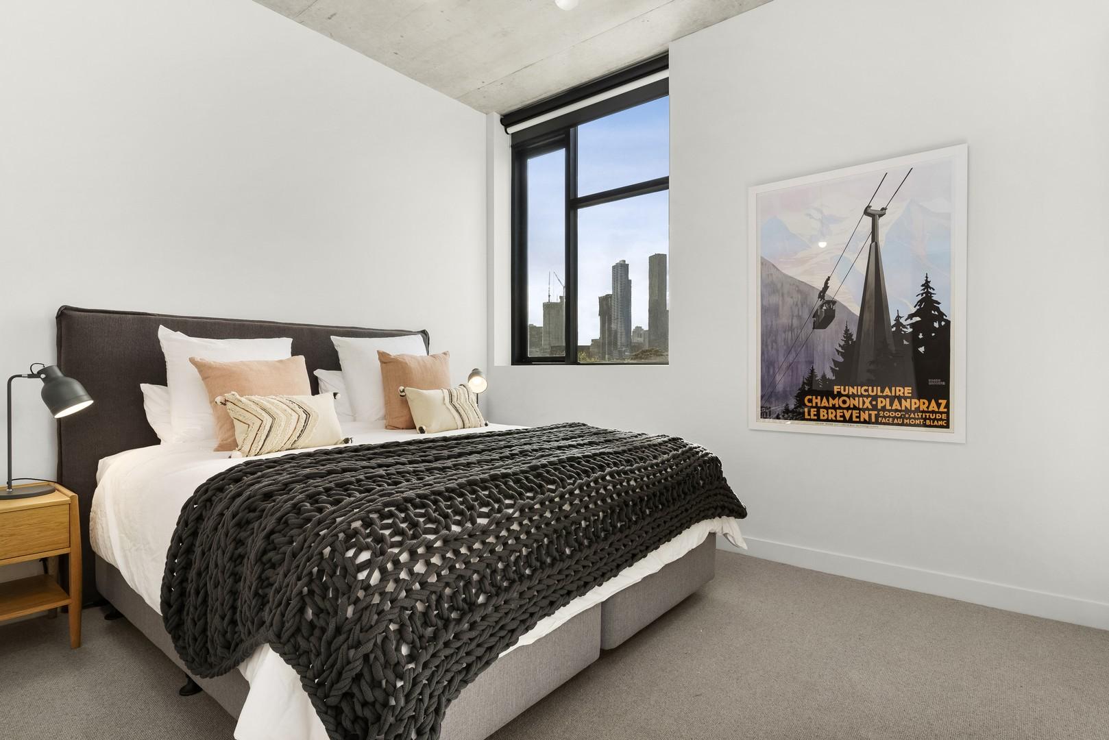 Bedroom at Highviews Apartment