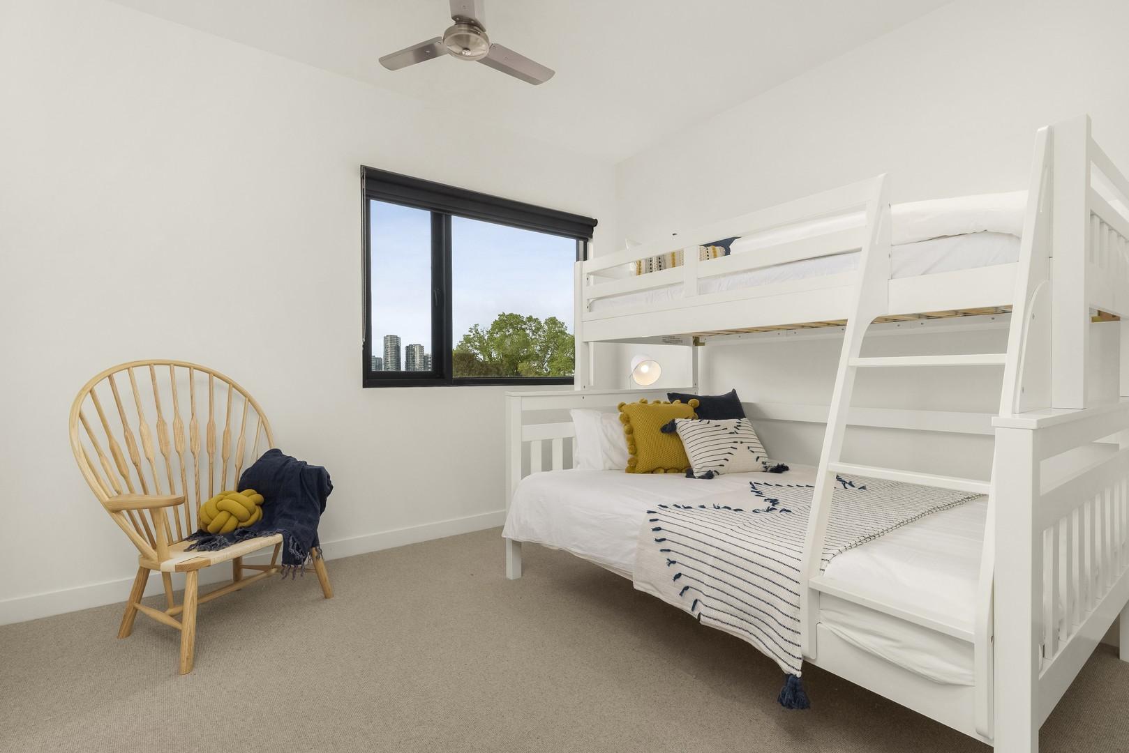Bunk beds at Highviews Apartment