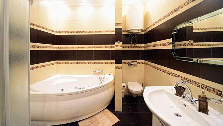 Bathroom in Mala Zhitomirskaya Apartment