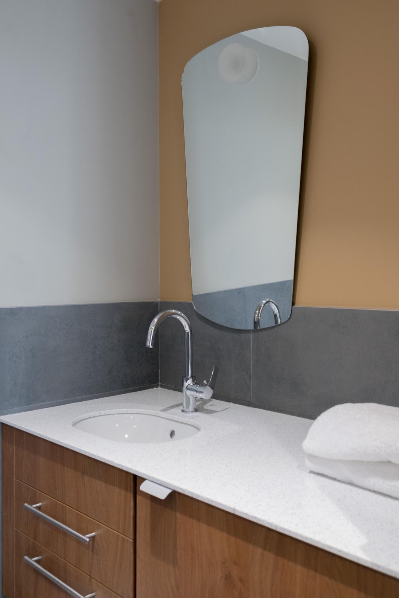 Sink at Residence Paris Auteuil