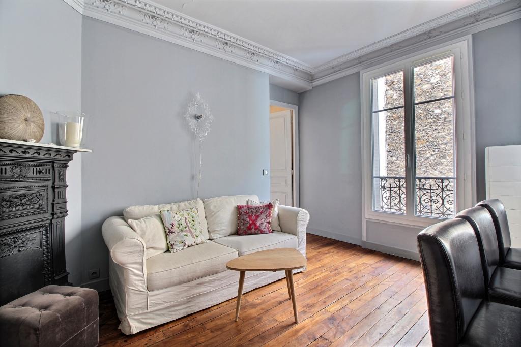 Living room at Cozy Gramme Apartment, 15th Arr, Paris