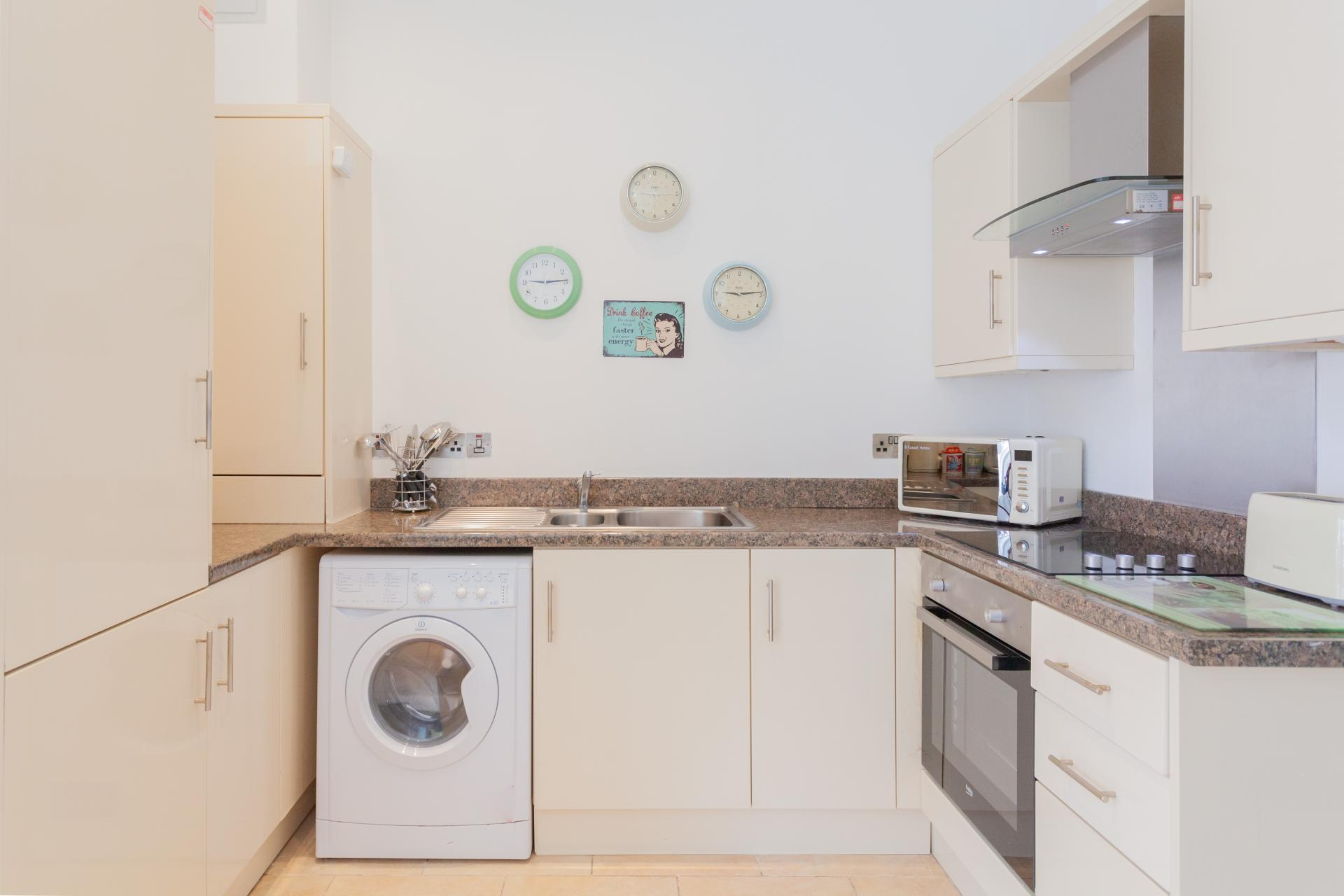 Kitchen at Haven Serviced Apartments