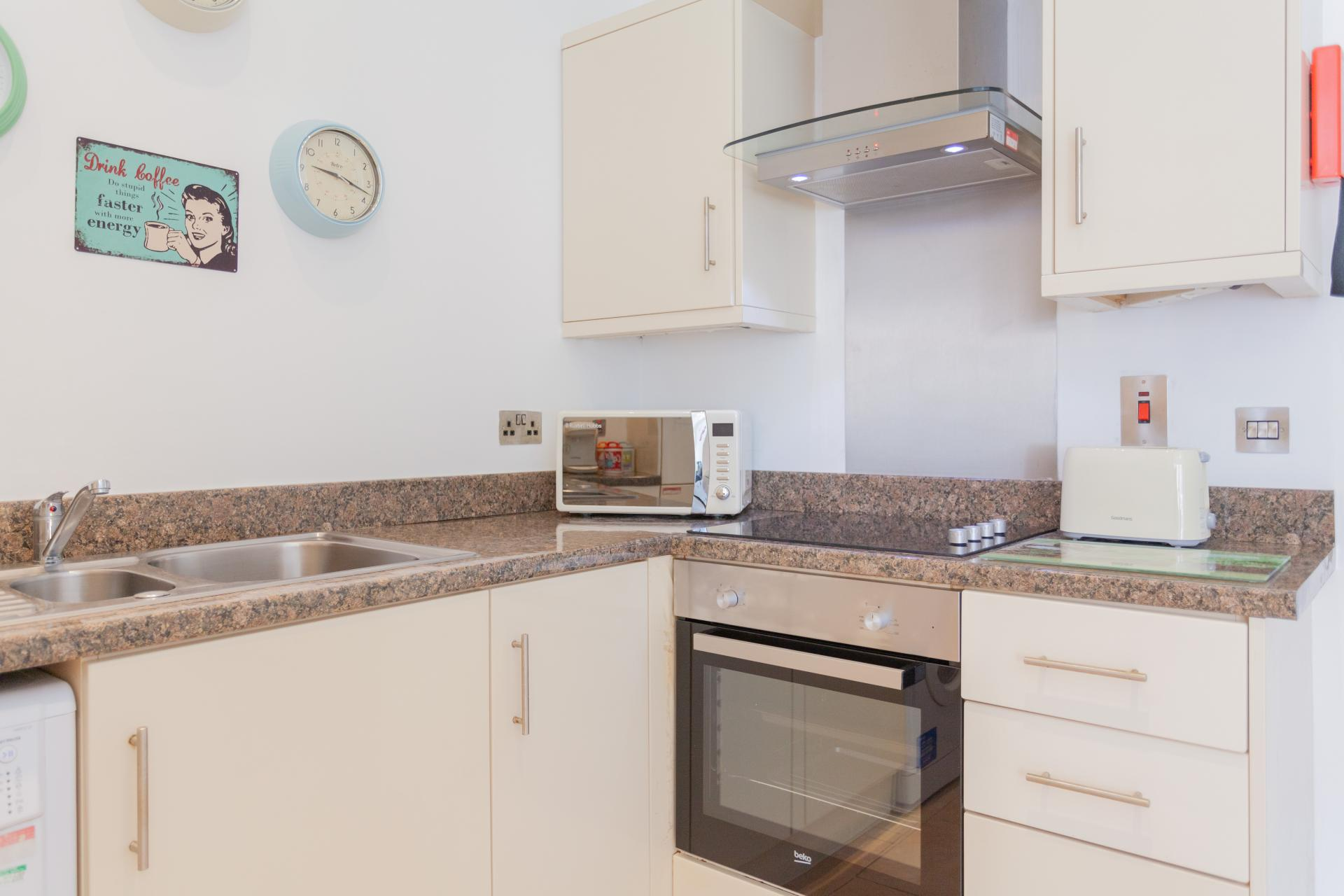Oven at Haven Serviced Apartments