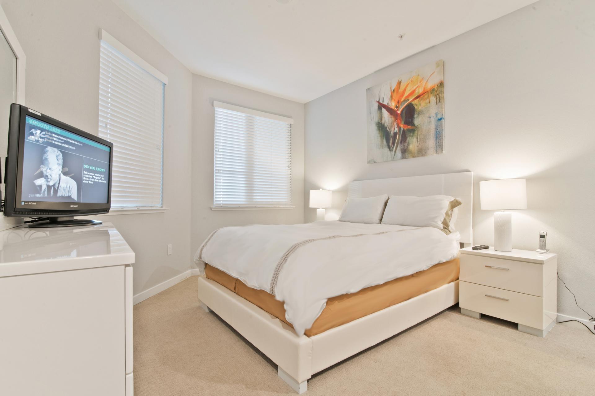 TV at Anton Menlo Apartments, Friendly Acres, Menlo Park