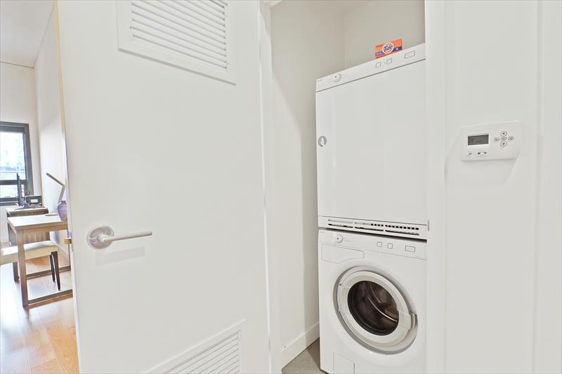 Laundry at Apex Serviced Apartment