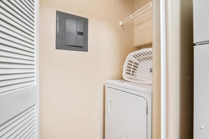 Laundry facilities at Arioso Serviced Apartment, Centre, Cupertino