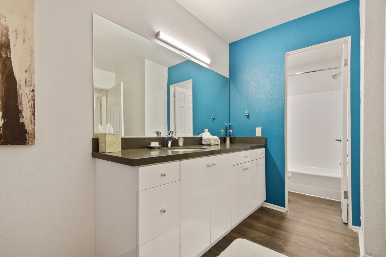 Bathroom at Ava Toluca Hills Apartments, Toluca Lake, Los Angeles