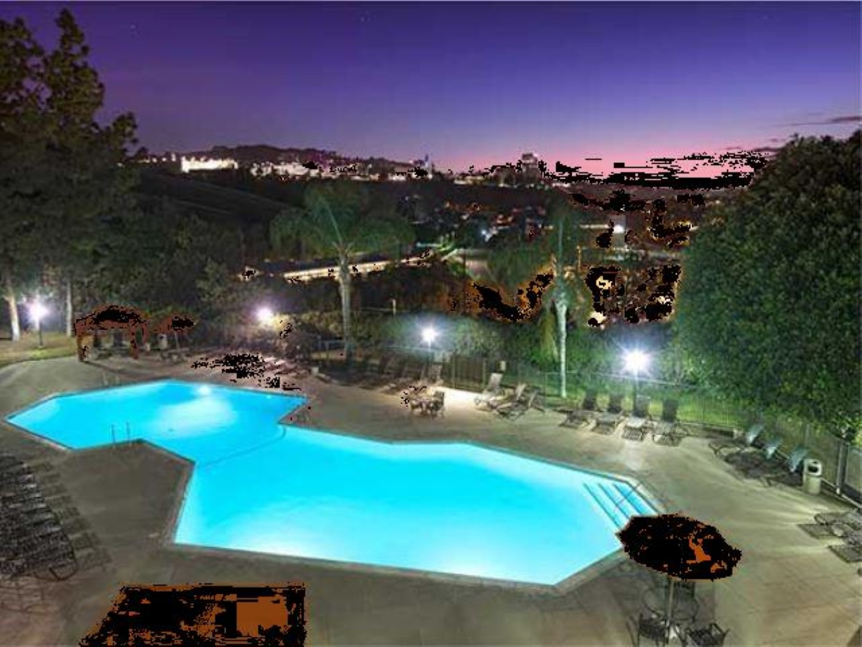 Pool at Ava Toluca Hills Apartments, Toluca Lake, Los Angeles