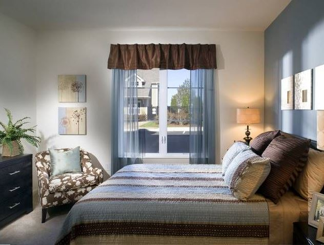 Bedroom at Avalon Residences at the Hingham Shipyard