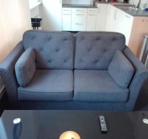 Sofa at Business Korenstraat Apartment