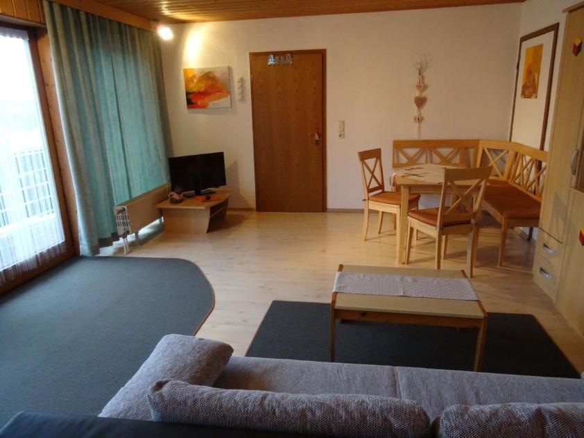 Spacious living area at Marktoberdorf Apartment