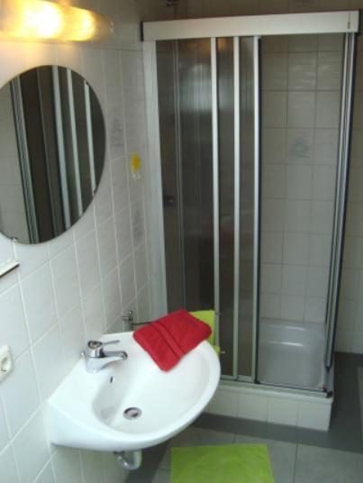 Bathroom at Marktoberdorf Apartment
