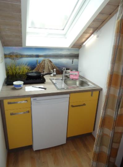 Kitchen at Marktoberdorf Apartment