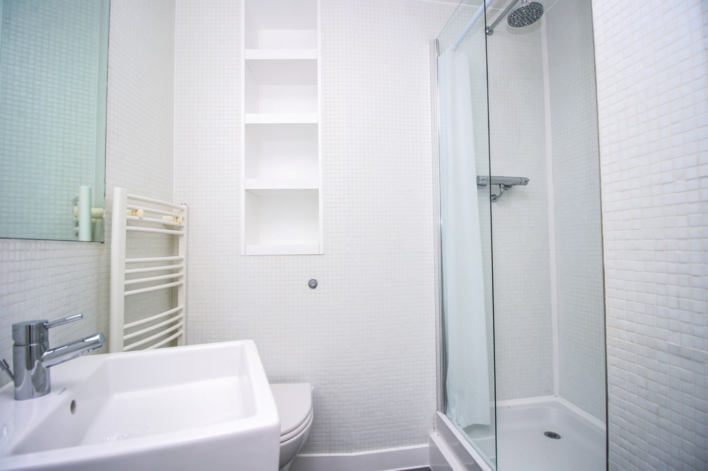 Bathroom at The Rotunda Serviced Apartment