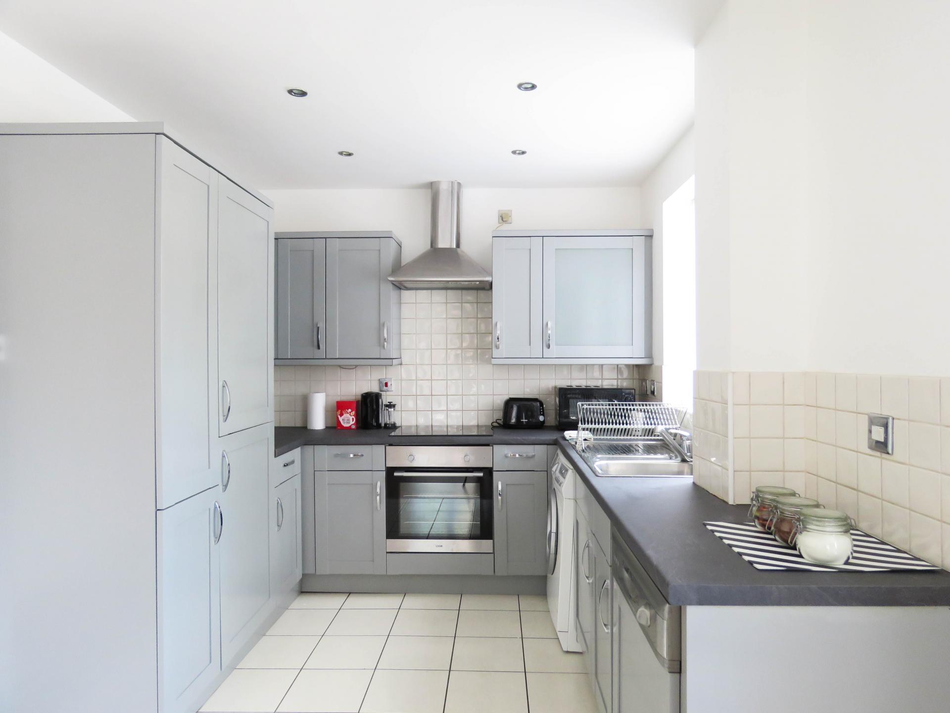 Kitchen at ICC and Canal Side Serviced Apartment
