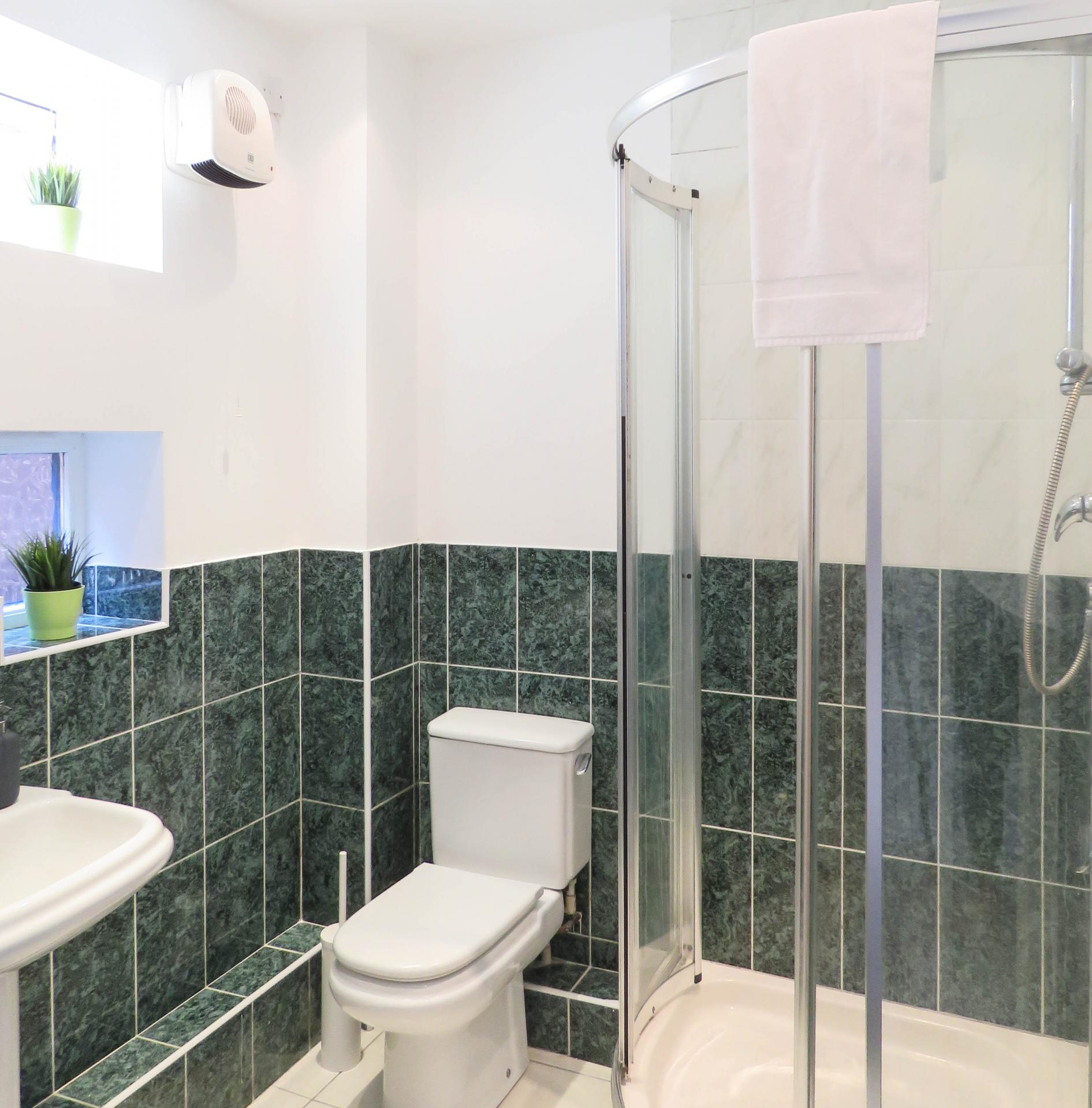 Bathroom at ICC and Canal Side Serviced Apartment