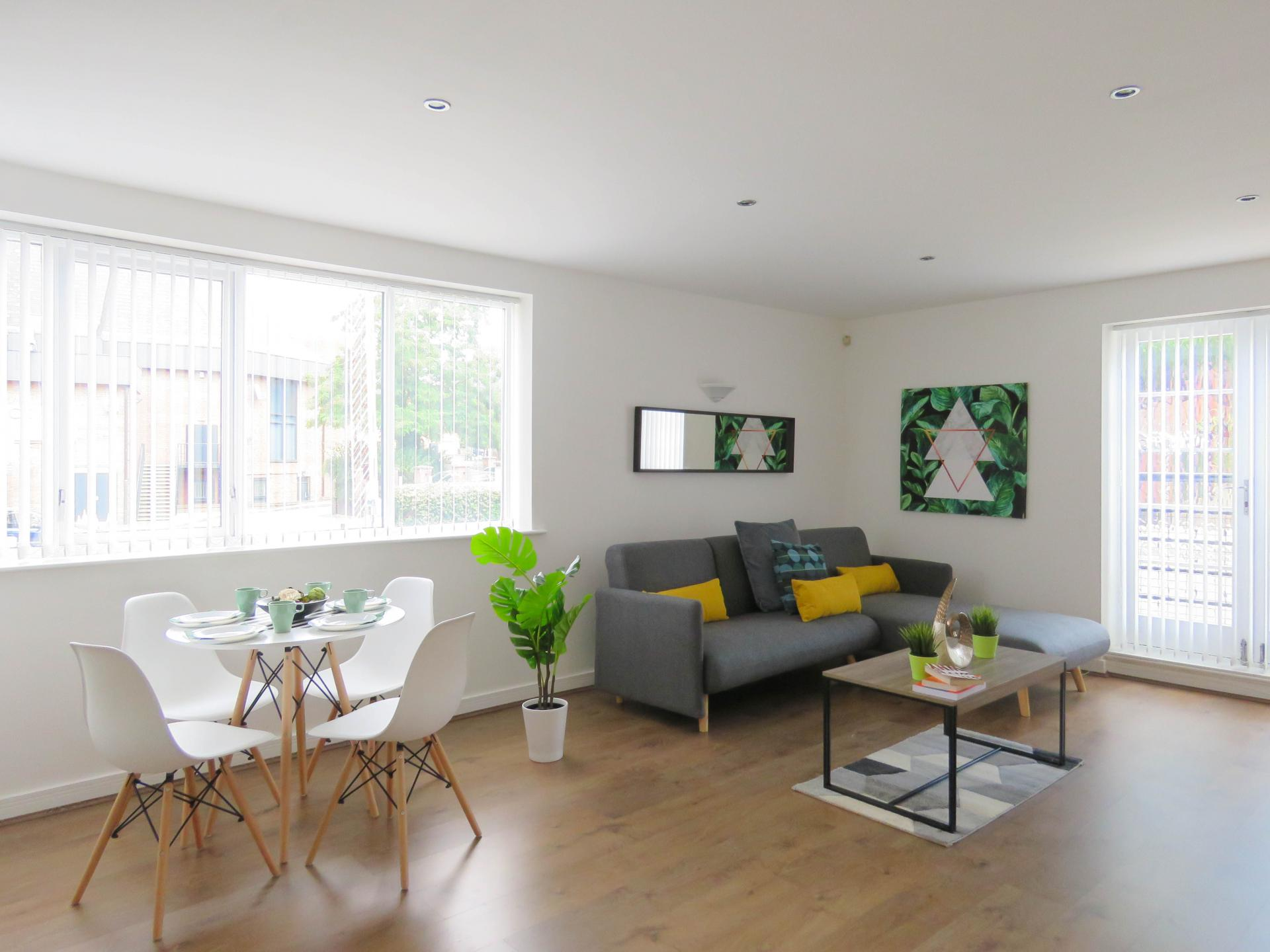 Layout at ICC and Canal Side Serviced Apartment