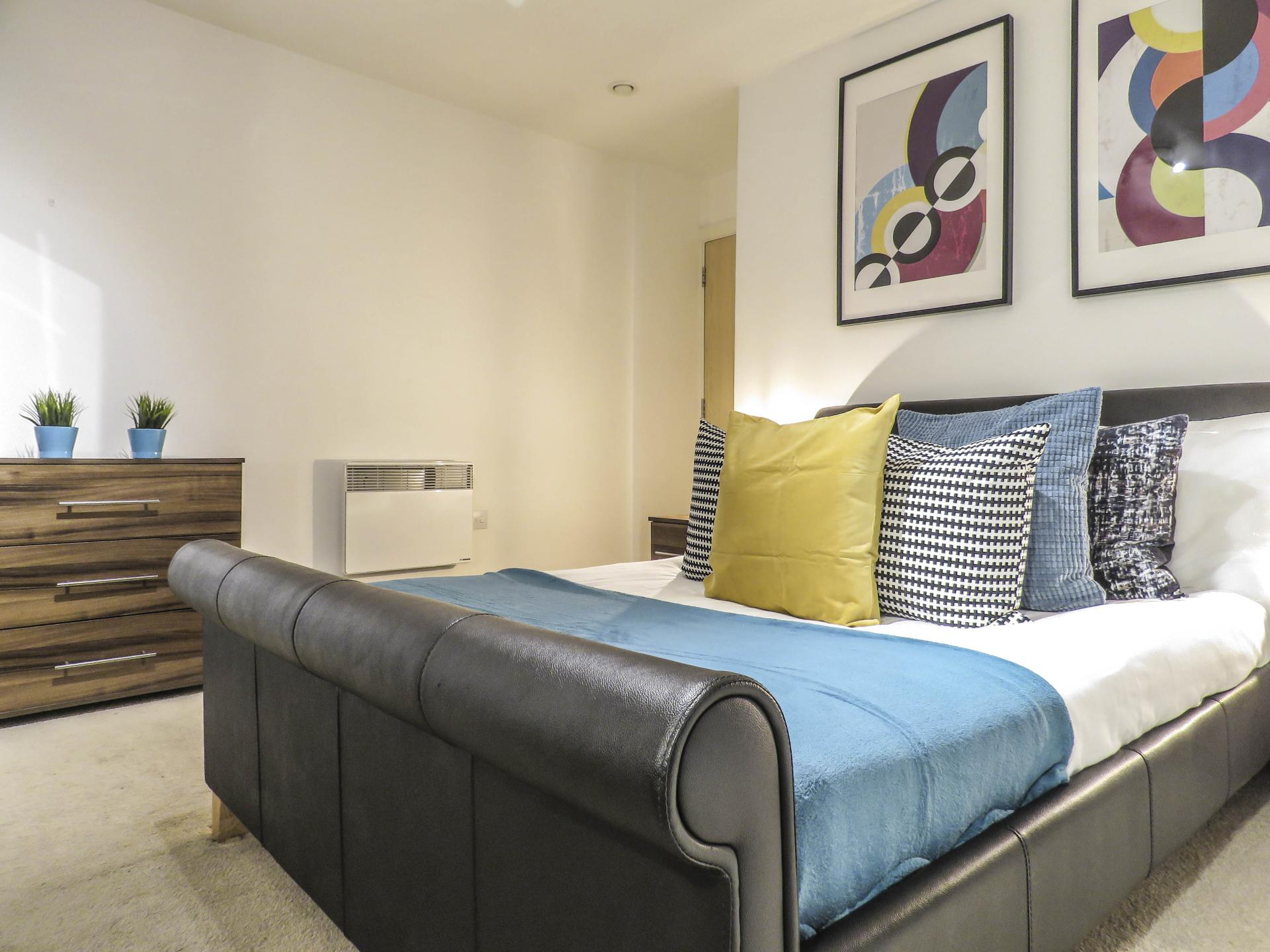 Bedroom at Lion Court Serviced Apartment