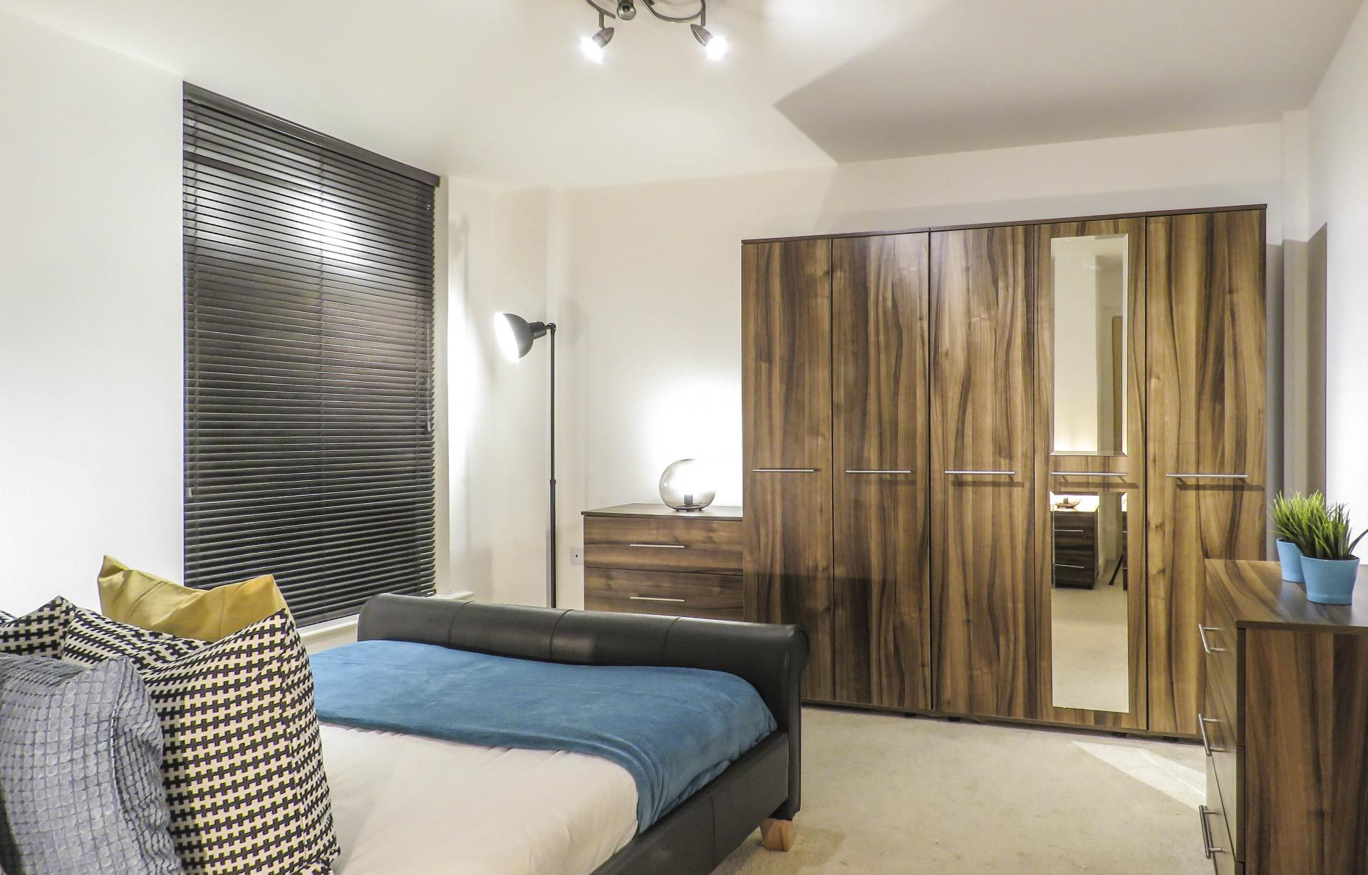 Wardrobe at Lion Court Serviced Apartment