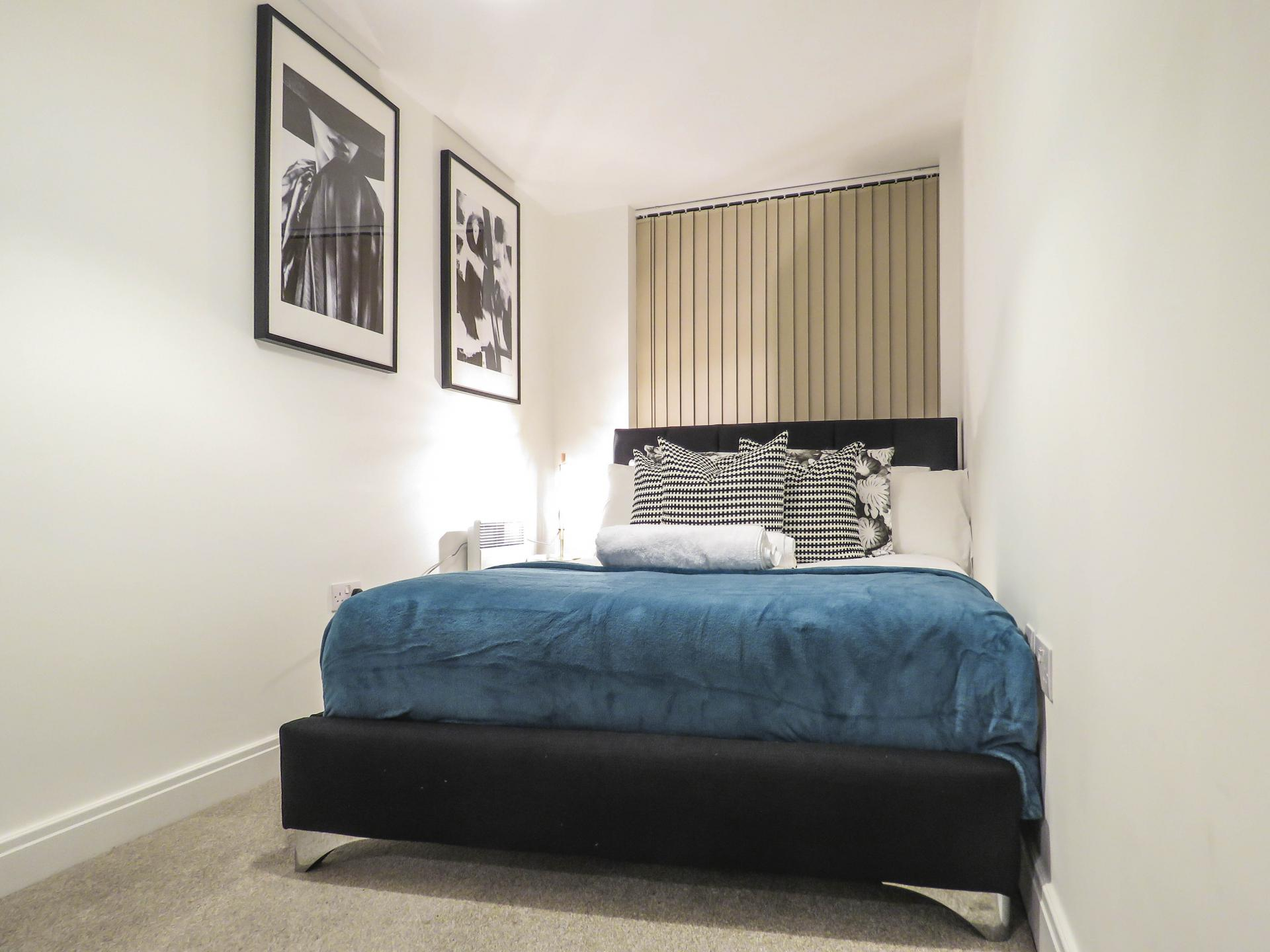 Bedroom at Warstone Lane Serviced Apartment