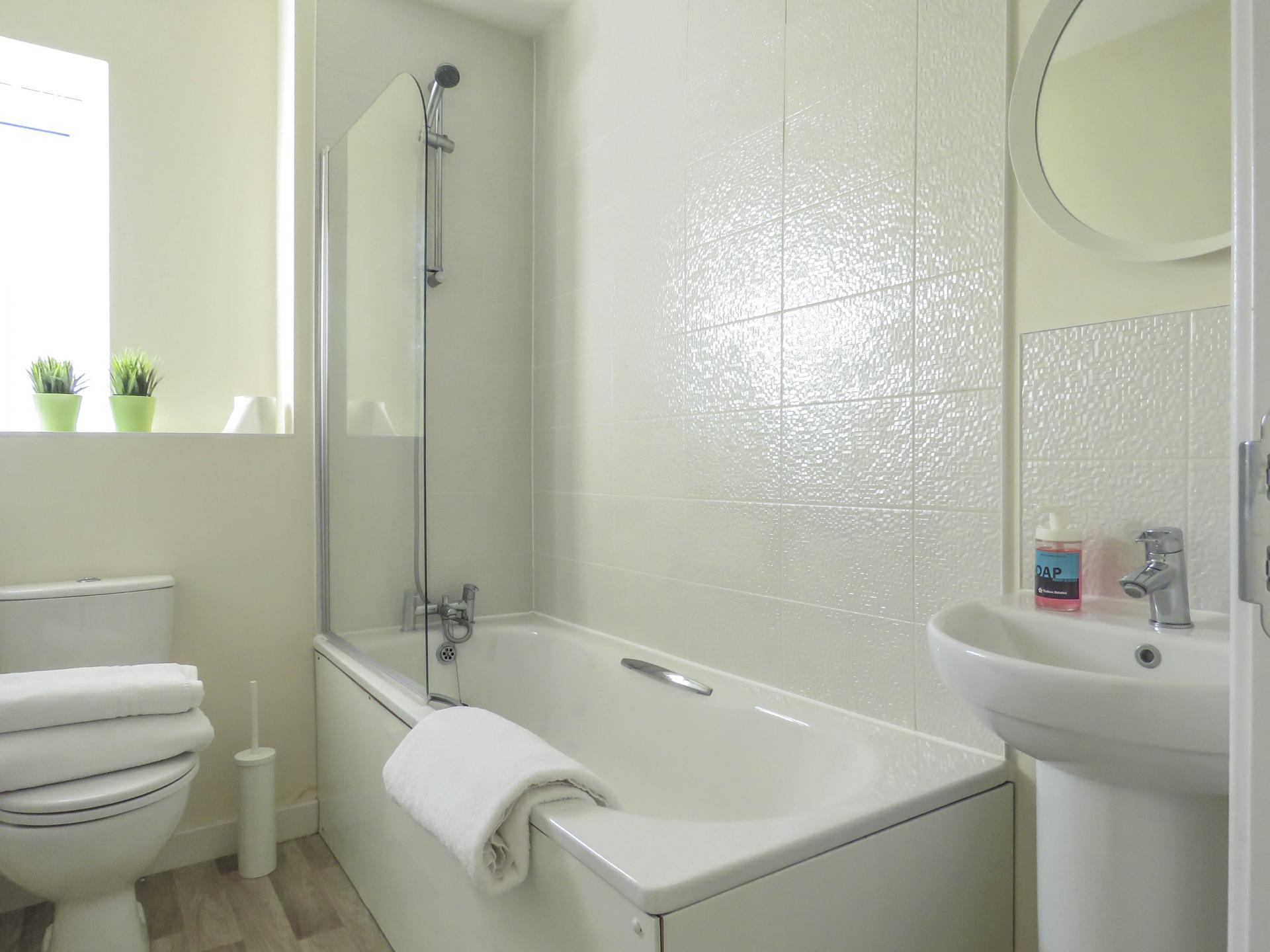 Bathroom at Guildford Townhouse