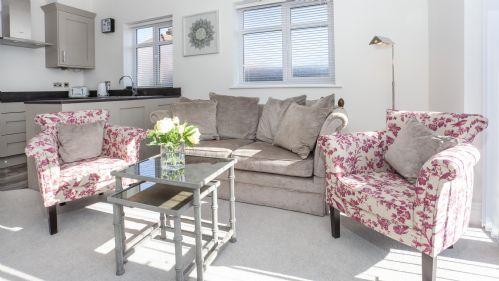 Sofa at White House Apartments