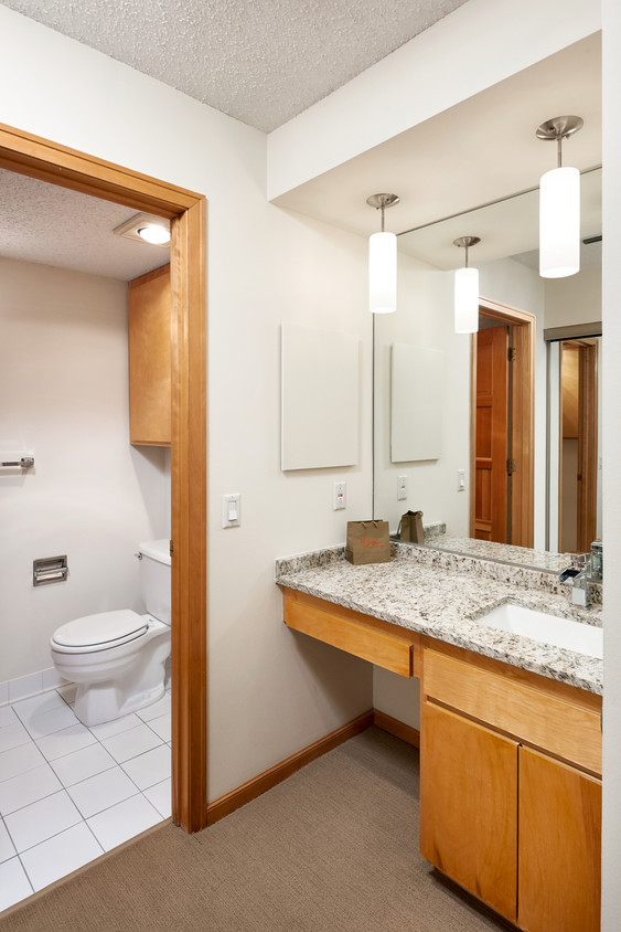 Bathroom at Marquette Place, Loring Park, Minneapolis