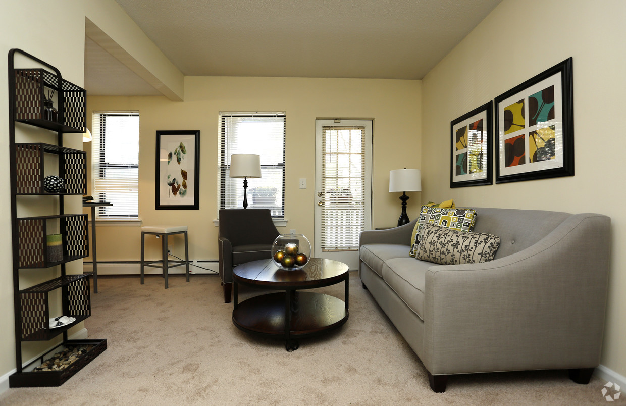 Living Room at Clemens Place Apartment