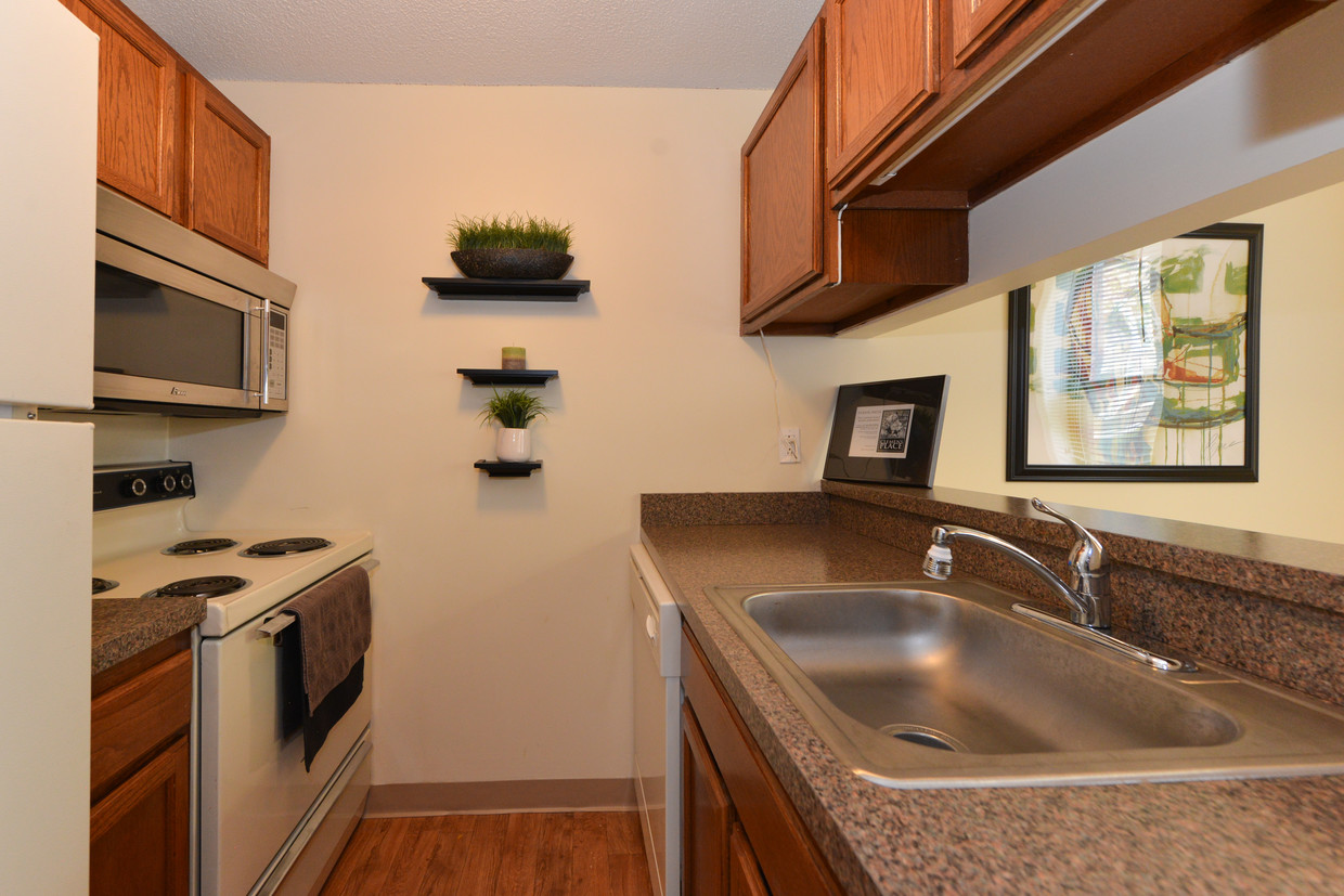 Kitchen at Clemens Place Apartment
