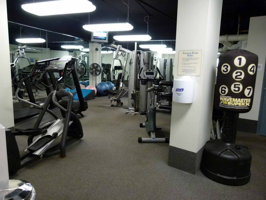 Fitness Centre at Spectra on the Park Apartment