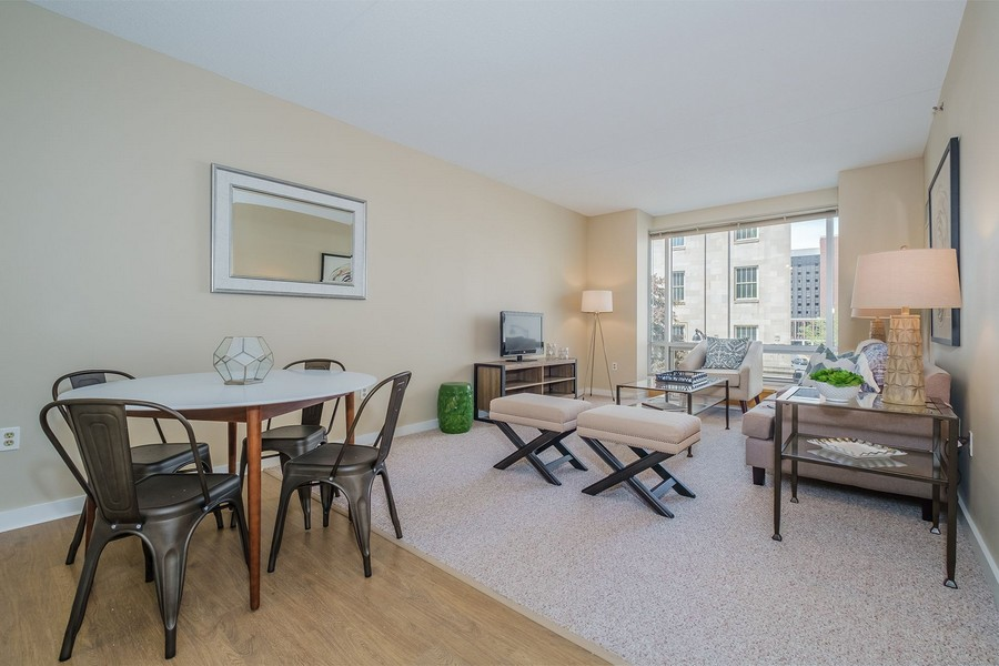 Open Floorplan at Spectra on the Park Apartment
